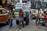Migrant labourers at work in Kolkata.West Bengal, India, 2009, Arindam Mukherjee