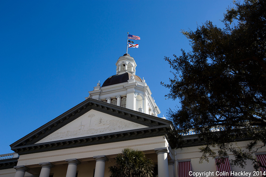 TALLAHASSEE, FLA. 1/22/14-Florida's Historic Capitol building in Tallahassee.<br />