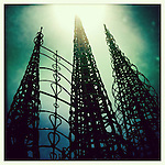 The Watts Towers in Los Angeles