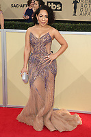 LOS ANGELES, CA - JANUARY 21: Selenis Leyva at The 24th Annual Screen Actors Guild Awards held at The Shrine Auditorium in Los Angeles, California on January 21, 2018. Credit: FSRetna/MediaPunch