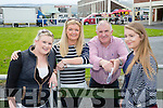l-r  Mary Mulcahy, Angela Kelleher, Mike Kelleher and Abigail Kelleher enjoying the North Kerry Harriers Point to Point at Ballybeggan Tralee on Saturday