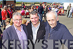 Pictured at the Churchill Heritage 60's day on Saturday, from left: Diarmuid Crowley, John Moriarty and Bernard Collins (NEKD)..