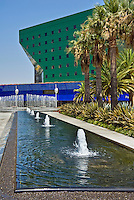 Pacific Design Center, West Hollywood, CA, (Blue Whale) Vertical