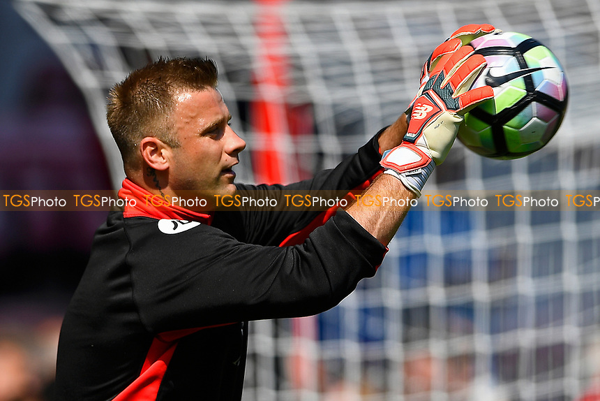 Artur Boruc of AFC Bournemouth during AFC Bournemouth vs Burnley, Premier League Football at the Vitality Stadium on 13th May 2017