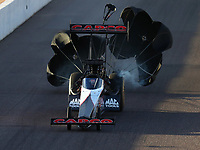 Feb 23, 2018; Chandler, AZ, USA; NHRA top fuel driver Billy Torrence during qualifying for the Arizona Nationals at Wild Horse Pass Motorsports Park. Mandatory Credit: Mark J. Rebilas-USA TODAY Sports