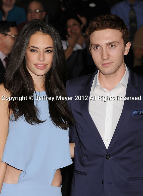 LOS ANGELES, CA - FEBRUARY 22: Chloe Bridges and Daryl Sabara attend the 'John Carter' Los Angeles premiere held at the Regal Cinemas L.A. Live on February 22, 2012 in Los Angeles, California.