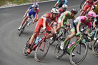 20th May 2018, Giro D italia; stage 15 Tolmezzo to Sappada, Androni Giocattoli - Sidermec; Cattaneo, Mattia; Passo Della Mauria;