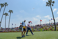 Jon Rahm (ESP) heads down 3 during round 1 of The Players Championship, TPC Sawgrass, at Ponte Vedra, Florida, USA. 5/10/2018.<br /> Picture: Golffile | Ken Murray<br /> <br /> <br /> All photo usage must carry mandatory copyright credit (&copy; Golffile | Ken Murray)