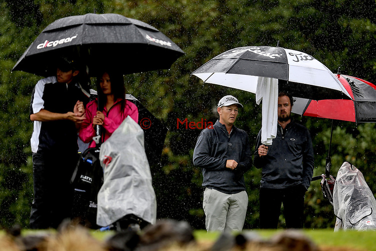 Kieran Muir during the Barfoot and Thompson Charles Tour, Akarana Open, Akarana Golf Club, Auckland, Sunday 17  April 2016. Photo: Simon Watts/www.bwmedia.co.nz