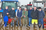 FAMILY: The Donegan family with friends at the Ardfert Ploughing Competition on Mike McCarthy's Land on Sunday l-r: Micky Burke,Jamie Donegan (jnr) Jimmy Donegan (snr), John Healy,John P Corriodon and Gerard Burke.