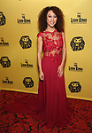 Gaia Aikman attends the 20th Anniversary Performance of 'The Lion King' on Broadway at The Minskoff Theatre on November 5, 2017 in New York City.