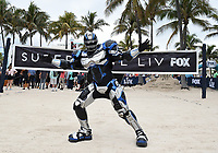 "MIAMI BEACH, FL - JANUARY 31: Fox Sports' Cleatus on the set of ""Speak for Yourself"" on the Fox Sports South Beach studio during Super Bowl LIV week on January 31, 2020 in Miami Beach, Florida. (Photo by Frank Micelotta/Fox Sports/PictureGroup)"
