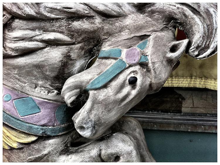 Americana.<br /> <br /> Carosel horse, Columbus, Ohio.