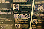 A posted of The Civil Rights Martyrs is posted in the basement of 16th Street Baptist Church in downtown Birmingham, Alabama. In 1963, four girls were killed when a bomb under the church's side steps went off.