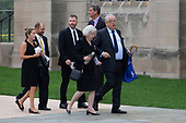 Guests arrive for the funeral service for late United States Senator John McCain (Republican of Arizona) at the Washington National Cathedral in Washington, DC on September 1, 2018. <br /> Credit: Alex Edelman / CNP
