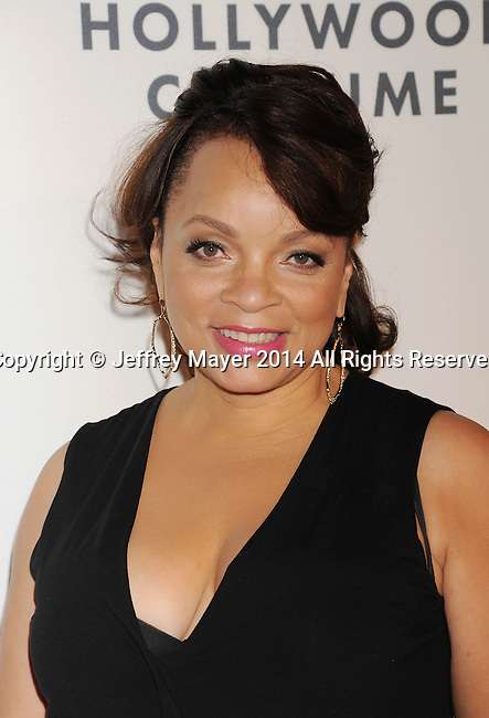LOS ANGELES, CA- OCTOBER 01: Costume designer Ruth Carter attends The Academy of Motion Picture Arts and Sciences' Hollywood Costume Opening Party at the Wilshire May Company Building on October 1, 2014 in Los Angeles, California.