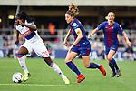 UEFA Women's Champions League 2017/2018.<br /> Quarter Finals.<br /> FC Barcelona vs Olympique Lyonnais: 0-1.<br /> Griedge M'Bock Bathy vs Vicky Losada.