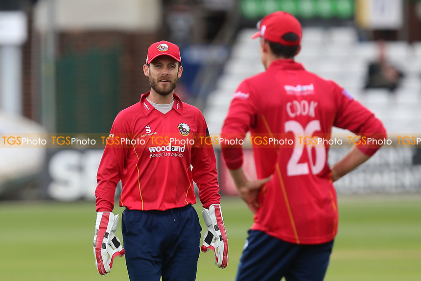 James Foster back in action for Essex during Essex Eagles vs Middlesex, Royal London One-Day Cup Cricket at The Cloudfm County Ground on 12th May 2017