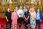 Concert 'Between Heaven & Earth' Featuring Sharon Lyons, Soprano & Nils Wanderer, Counter-Tenor  pictured along with friends and students of Kerry Vocal Academy's Summer Vocal Masterclasses 2019 in the Killarney Franciscan Friary last Friday evening. Front l-r Karen Crowley, Anna San Torcuato, Nils Wanderer, Sharon Lyons, Katie McAuliffe and Anita Lakner, back l-r Michael Crowley, Jan David Smejkal and Oisin Treacy.