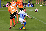 NELSON, NEW ZEALAND - OCTOBER 28: ISPS Handa Premiership Tasman United v Hamilton Wanderers Trafalgar Park on October 28 2018 in Nelson, New Zealand. (Photo by: Evan Barnes Shuttersport Limited)