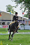 Images of Alice Pearson and Beau Bear at The Mitsubishi Motors Badminton Horse Trials 2011
