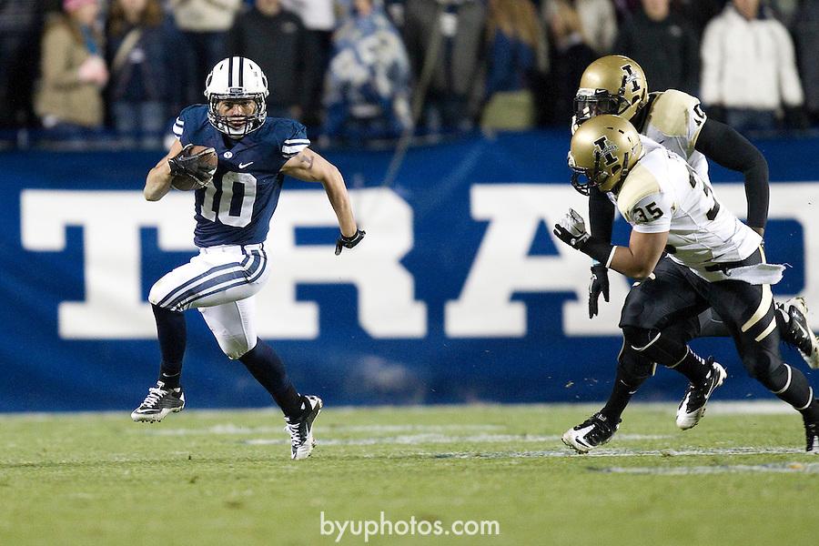 _SW13688.jpg..2011 Football - BYU vs Idaho..BYU-42.Idaho-7..November 12, 2011..Photo by Jaren Wilkey/BYU..© BYU PHOTO 2011.All Rights Reserved.photo@byu.edu  (801)422-7322
