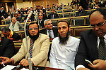 Egyptian parliament members attend the first parliament session after the revolution that ousted former President Hosni Mubarak, in Cairo January 23, 2012. Egypt's parliament began its first session on Monday since an election put Islamists in charge of the assembly following the overthrow of Mubarak in February. Photo by Ahmed Asad