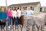 Five of the nine Dillon family who attended Scoil Mhichíl in Ballinskelligs from 1981 to 2015 pictured here l-r; Emma, Grace, Martina, Rachel & Clare with their parents Bridget & John from Kinnard West, Ballinskelligs missing from the photo Majella, Jane, Patrick & Sandra.