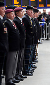 Old soldiers line up for the 11th hour on the 11th day Remembrance Parade at Glasgow Central Station - picture by Donald MacLeod 11.11.10 - mobile 07702 319 738 - clanmacleod@btinternet.com - www.donald-macleod.com