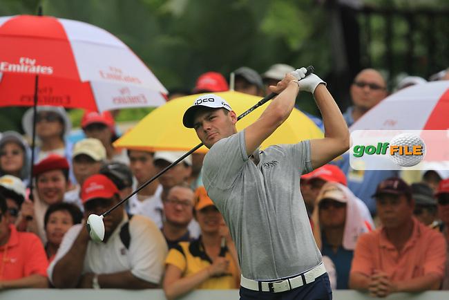 Martin Kaymer (GER) on the 1st on Day 3 of the Maybank Malaysian Open 2012 at Kuala Lumpur Golf and Country Club, Kuala Lumpur, Malaysia...(Photo Jenny Matthews/www.golffile.ie)