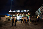 Stockholm 2013-11-08 Bandy Elitserien Hammarby IF - Villa Lidk&ouml;ping BK :  <br /> Huvudentr&eacute; till Zinkensdamms IP<br /> (Foto: Kenta J&ouml;nsson) Nyckelord:  utomhus exteri&ouml;r exterior