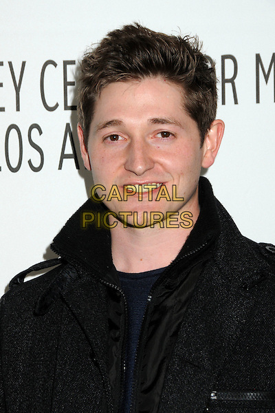 "LUCAS NEFF.28th Annual Paley Center for Media's Paley Fest 2011 Presents ""Raising Hope"" held at The Saban Theatre, Beverly Hills, California, USA..March 17th, 2011.headshot portrait black  .CAP/ADM/BP.©Byron Purvis/AdMedia/Capital Pictures."