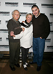 Alvin Epstein, Elizabeth Franz & Alfred Molina<br />attending the Meet & Greet the cast of the Roundabout Theatre Company's HOWARD KATZ at their Rehearsal Hall in New York City.<br />January 4, 2007