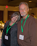 Valerie and Ross Ruxton during the Eagles & Agriculture Falconers dinner on Friday, Jan. 26, 2018 in the Carson Valley.