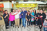Daithi O'Shea opening Horan's Health food Shop in Manor West on Friday..