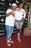Bun B (Bernard Freeman) and Angela Walls at the 2018 Gumball 3000 Rally launch party, Proud Embankment, Victoria Embankment, London, England, UK, on Saturday 04 August 2018.<br /> CAP/CAN<br /> &copy;CAN/Capital Pictures