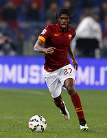 Calcio, Serie A: Roma vs Juventus. Roma, stadio Olimpico, 2 marzo 2015.<br /> Roma's Gervinho in action during the Italian Serie A football match between AS Roma and Juventus at Rome's Olympic stadium, 2 March 2015.<br /> UPDATE IMAGES PRESS/Riccardo De Luca