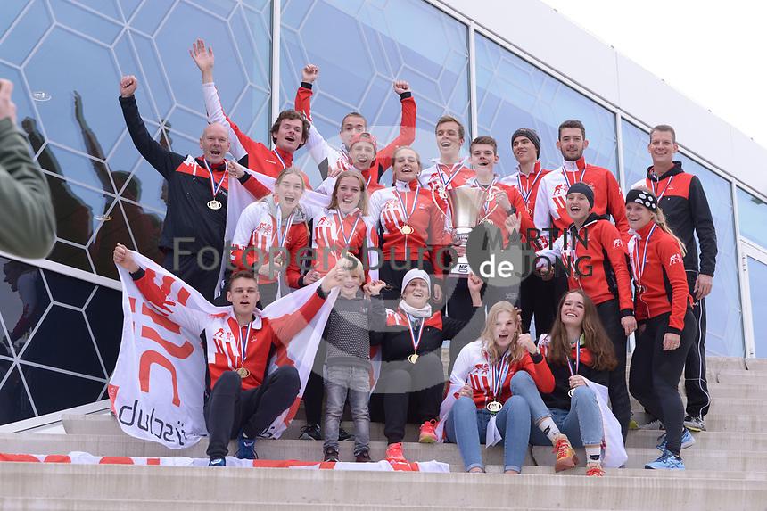 SCHAATSEN: HEERENVEEN: 05-10-2019, IJsstadion Thialf, NK CLUBS, winnaars AIJC Alkmaar, ©foto Martin de Jong