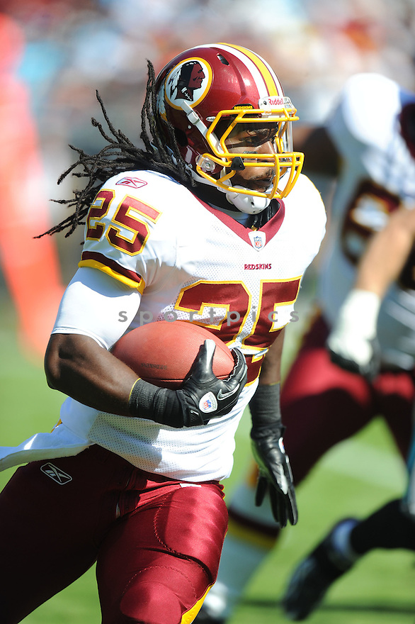 TIM HIGHTOWER, of the Washington Redskins, in action during the Redskins game against the Carolina Panthers on October 23, 2011 at Bank of America Stadium in Charlotte, NC. The Panthers beat the Redskins 33-20.