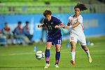 Yuika Sugasawa (JPN), <br /> SEPTEMBER 18, 2014 - Football / Soccer : <br /> Women's Group Stage <br /> between Japan Women's - Jordan Women's <br /> at Namdong Asiad Rugby Field <br /> during the 2014 Incheon Asian Games in Incheon, South Korea. <br /> (Photo by YUTAKA/AFLO SPORT)