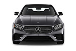 Car photography straight front view of a 2020 Mercedes Benz E-Class AMG-E53 4 Door Sedan Front View