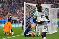 (180624) -- YEKATERINBURG, June 24, 2018 -- Moussa Wague (R front) of Senegal celebrates scoring during the 2018 FIFA World Cup WM Weltmeisterschaft Fussball Group H match between Japan and Senegal in Yekaterinburg, Russia, June 24, 2018. ) (SP)RUSSIA-YEKATERINBURG-2018 WORLD CUP-GROUP H-JAPAN VS SENEGAL ChenxCheng PUBLICATIONxNOTxINxCHN  <br /> YEKATERINBURG 24-06-2018 Football FIFA World Cup Russia  2018 <br /> Japan - Senegal / Giappone - Senegal<br /> Foto Xinhua/Imago/Insidefoto