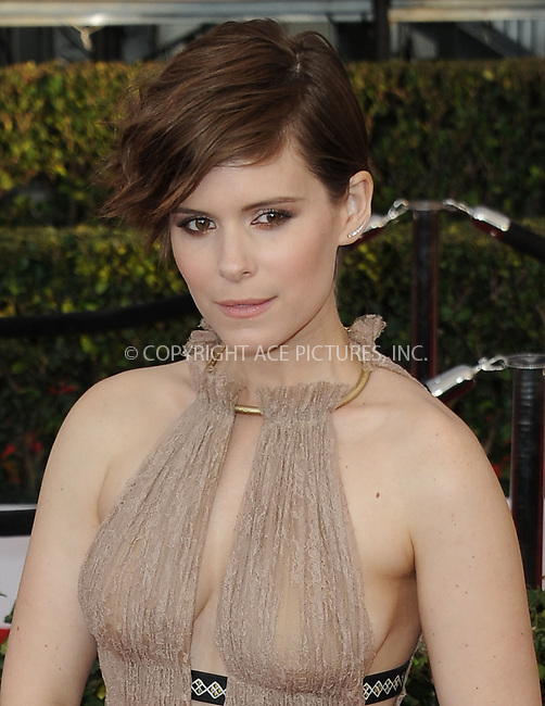 WWW.ACEPIXS.COM<br /> <br /> January 30 2016, LA<br /> <br /> Kate Mara arriving at the 22nd Annual Screen Actors Guild Awards at the Shrine Auditorium on January 30, 2016 in Los Angeles, California<br /> <br /> By Line: Peter West/ACE Pictures<br /> <br /> <br /> ACE Pictures, Inc.<br /> tel: 646 769 0430<br /> Email: info@acepixs.com<br /> www.acepixs.com