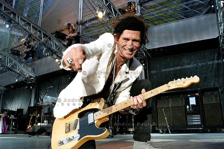 Italia, Milano, 12/06/03..Rolling Stones in concerto a San Siro..©Andrea Pagliarulo