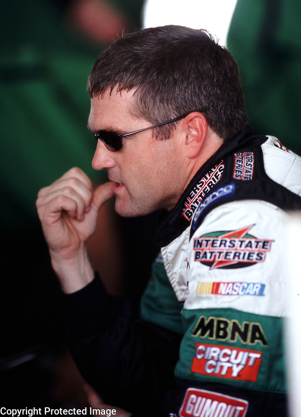 Bobby Labonte at Homestead-Miami Speedway in November 2000. (Photo by Brian Cleary)