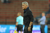 MEDELLÍN - COLOMBIA .24-02-2019:Octavio Zambrano director técnico del Independiente Medellín.Acción de juego entre los equipos Independiente Medellín y Deportivo Cali  durante partido por la fecha 6 de la Liga Águila I 2019 jugado en el estadio Atanasio Girardot de la ciudad de Medellín. /Octavio Zambrano cach of Independiente Medellin. Action game between  Independiente Medellin  and  Deportivo Cali  during the match for the date 6 of the Liga Aguila I 2019 played at the Atanasio Girardot  Stadium in Medellin  city. Photo: VizzorImage /León Monsalve / Contribuidor.
