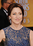LOS ANGELES, CA - JANUARY 27: Edie Falco arrives at the19th Annual Screen Actors Guild Awards held at The Shrine Auditorium on January 27, 2013 in Los Angeles, California.