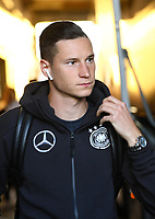 Julian Draxler (Deutschland, Germany) - 09.09.2018: Deutschland vs. Peru, Wirsol Arena Sinsheim, Freundschaftsspiel DISCLAIMER: DFB regulations prohibit any use of photographs as image sequences and/or quasi-video.