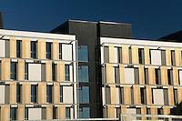 Parasoleil facade sud, les meme que sur la facade nord<br /> ZAC des Champs Blancs