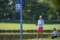 Danielle Kang (USA) looks over her tee shot on 3 during round 1 of the 2018 KPMG Women's PGA Championship, Kemper Lakes Golf Club, at Kildeer, Illinois, USA. 6/28/2018.<br /> Picture: Golffile | Ken Murray<br /> <br /> All photo usage must carry mandatory copyright credit (&copy; Golffile | Ken Murray)